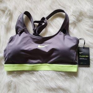 NWT Nike Classic Medium Support Dri-Fit Sports Bra